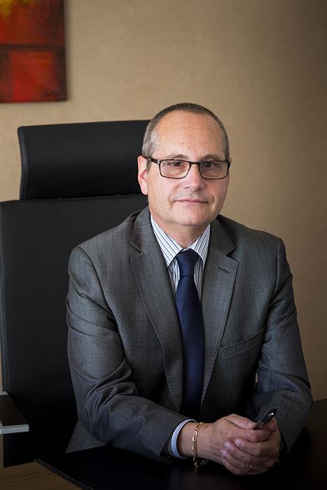 Serge Jacquet, président du conseil d'administration