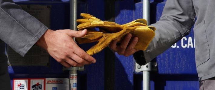 travailleurs gants