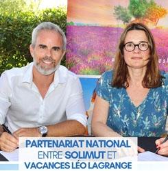 partenariat solimut vacances leo lagrange