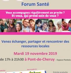 flyer forum santé des aidants