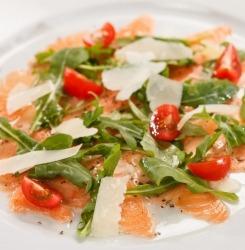 cuisine recette saumon menu de fêtes entrée