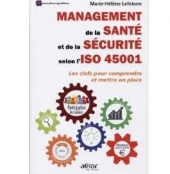 couverture livre Management de la santé et de la sécurité selon l'ISO 45001