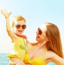 lunettes femme enfant protection soleil