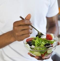 nourriture saine salade