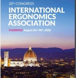congres société internationale d'ergonomie 2018 Florence