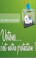 l'élection des délégués
